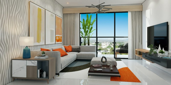 Apartamento en venta en Santiago.