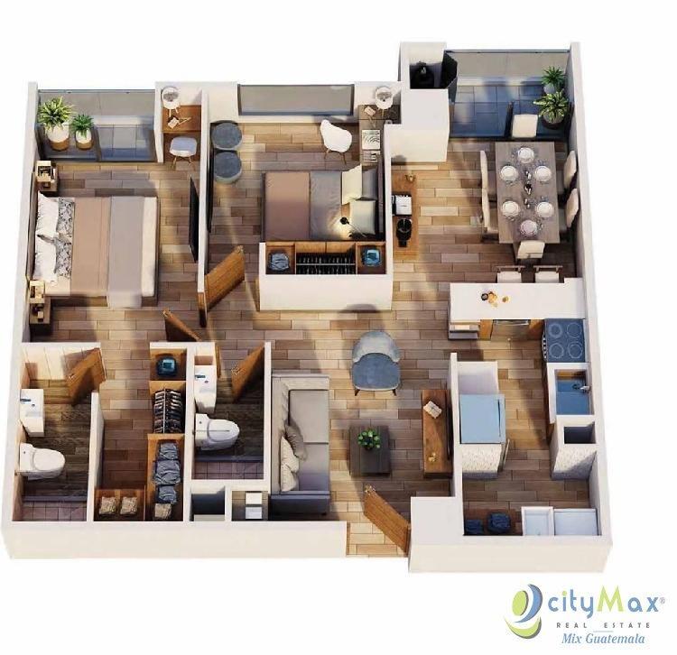Apartamento para Estrenar en Condado Catorce Zona 14