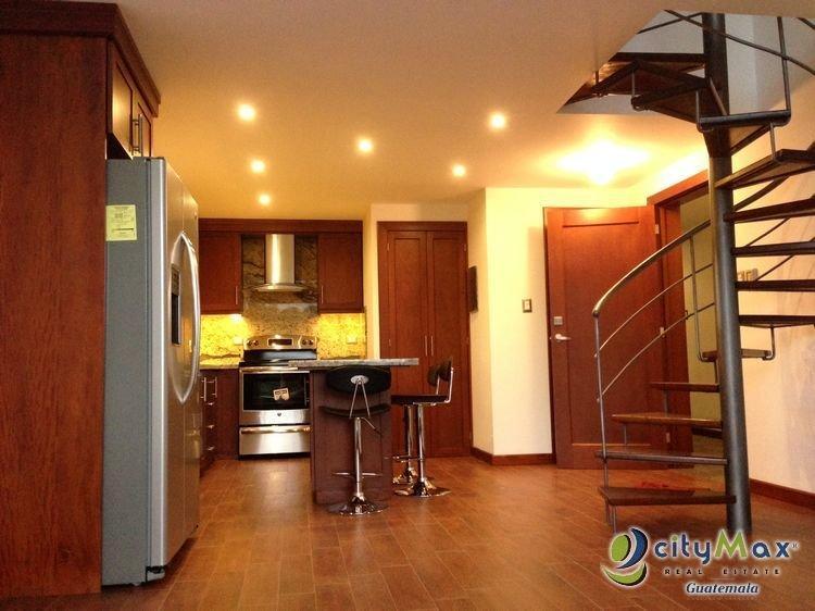 Apartamento tipo LOFT en renta en zona 16 Guatemala