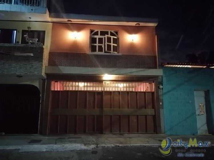 Casa Grande en Venta en San José El Placer Villa Nueva