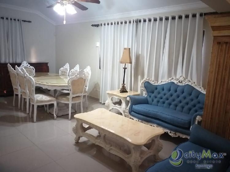 Rento Apartamento Amueblado en La Española, Santiago RD