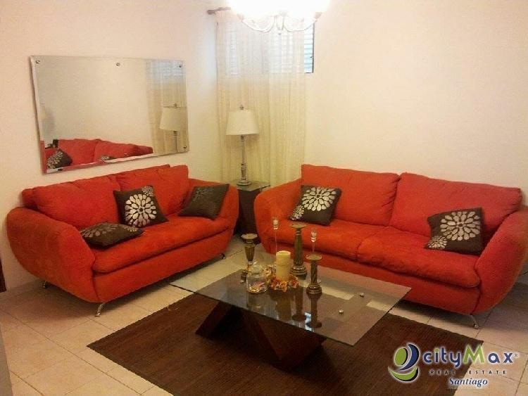 CITYMAX Renta de Apartamento Amueblado en Gurabo, Stgo