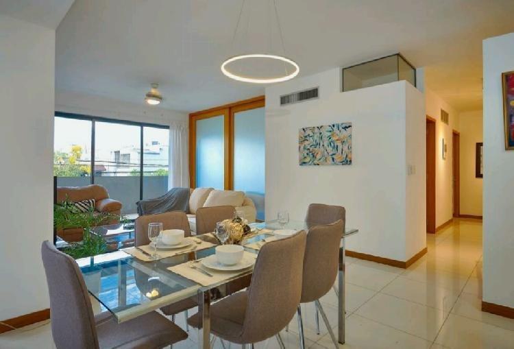 Alquiler Apartamento Amueblado en  Evaristo Morales