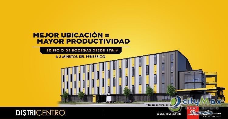 OFIBODEGA EN VENTA EL NARANJO ZONA 4 DE MIXCO
