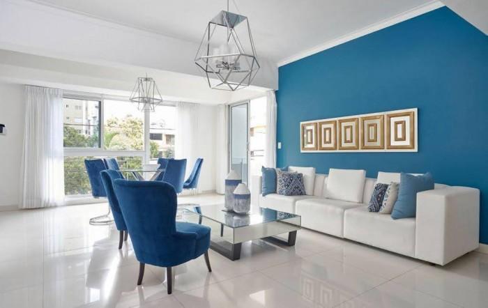 Apartamento amueblado en renta y venta en Naco