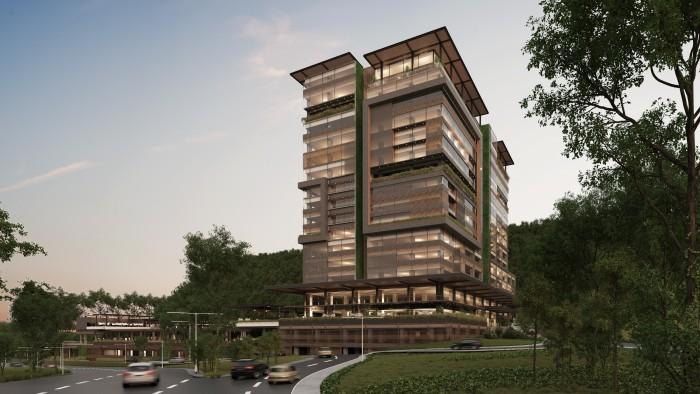 Modernas oficinas con terraza en área lujosa de zona 15