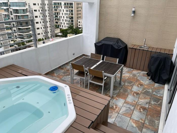 Apartamento en alquiler amueblado en Evaristo Morales