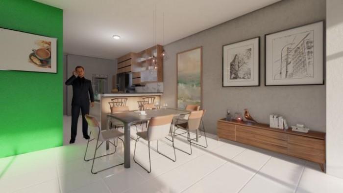 Amplio apartamento en venta en 8vo nivel en Alma Rosa I