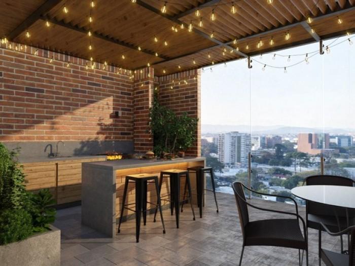 Apartamento 1 Habitacion en venta zona 10