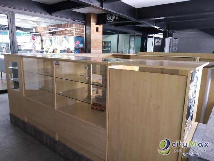 Renta de Kiosko en Plaza Comercial zona 10