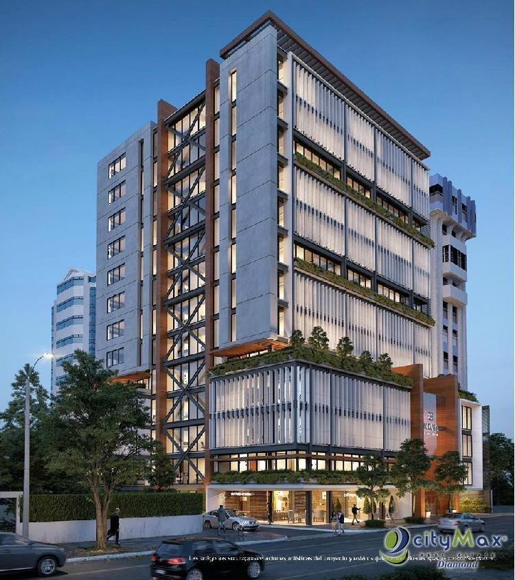 Oficinas en Zona 9, en construcción en venta