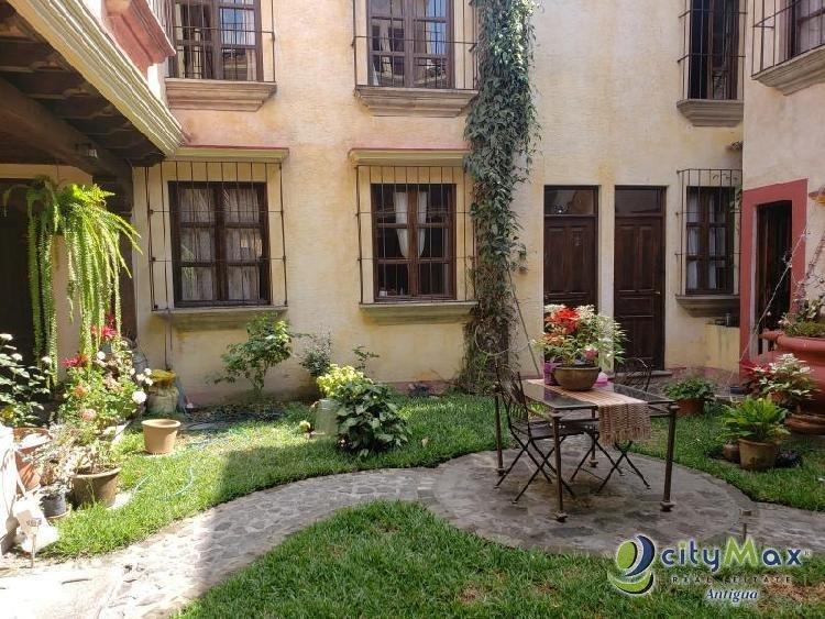 CityMax A. Renta apartamento amueblado en Antigua G!!