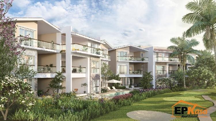 Apartamentos con Lago en Paseo de Cocotal en Punta Cana