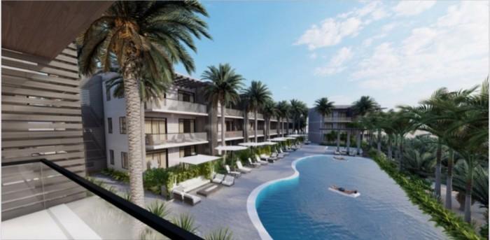 Apartamento con piscina y acceso a playa White Sands