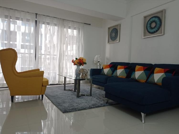 Apartamento en renta 2 habitaciones amueblado Piantini