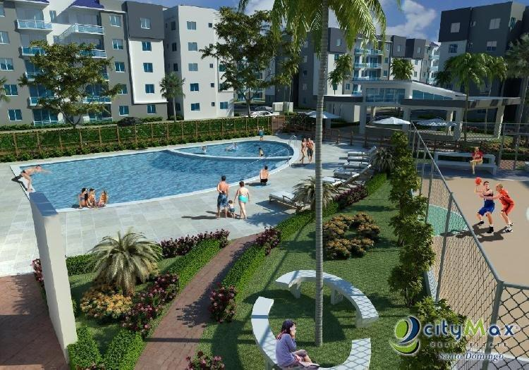 Apartamento en venta en Villa Mella con áreas sociales