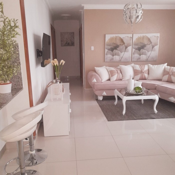 Apartamento amueblado, piscina, en Santiago RD.
