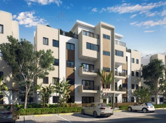 Apartamento en venta en primer nivel en Villa Aura