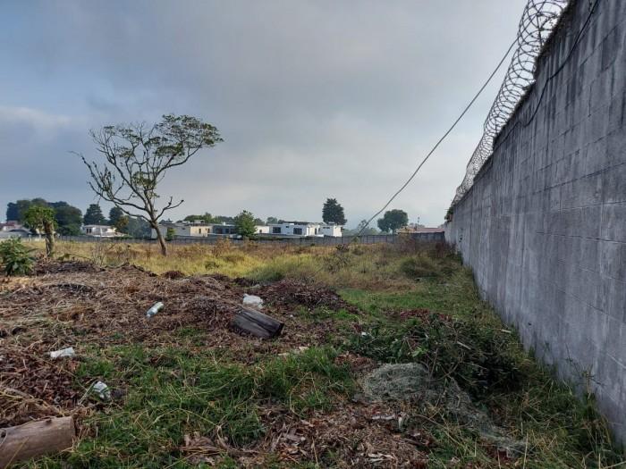 Carretera para desarrollo vivienda Santa Elena Barillas