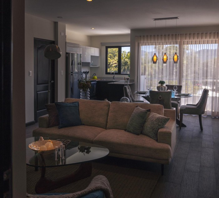 Renta apartamento nuevo con línea blanca incluida z.16