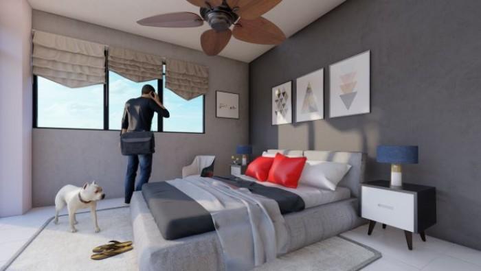 Apartamento en Venta 4to nivel en Alma Rosa I