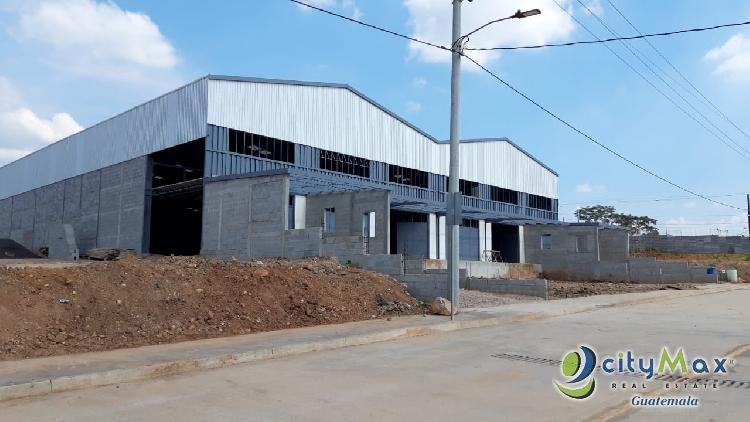 Bodega Industrial en Alquiler Autopista Puerto Quetzal