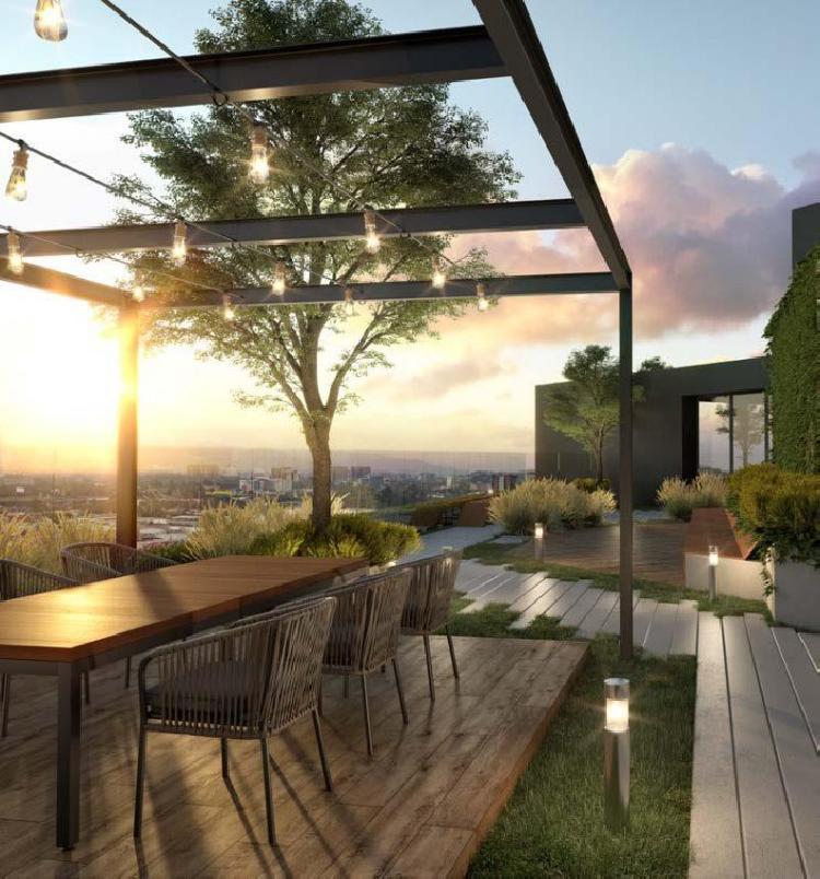 Apartamento con 39 m2 en venta en Zona 4 + Terraza 20m2