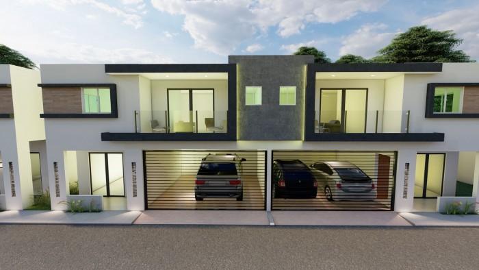 Casa en venta de 2 niveles en plano en Alma Rosa II