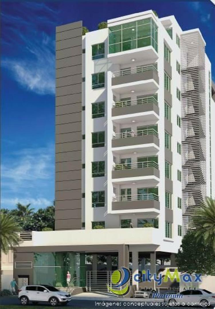 Vendo Apartamentos en Paraiso, Santo Domingo