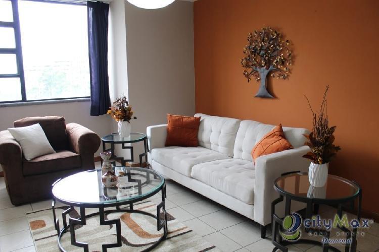 Renta Apartamento amueblado Américas Santorini zona 14