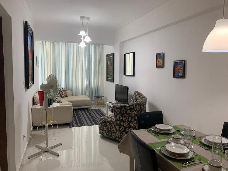 Apartamento amueblado de 1 Habitacion Evaristo