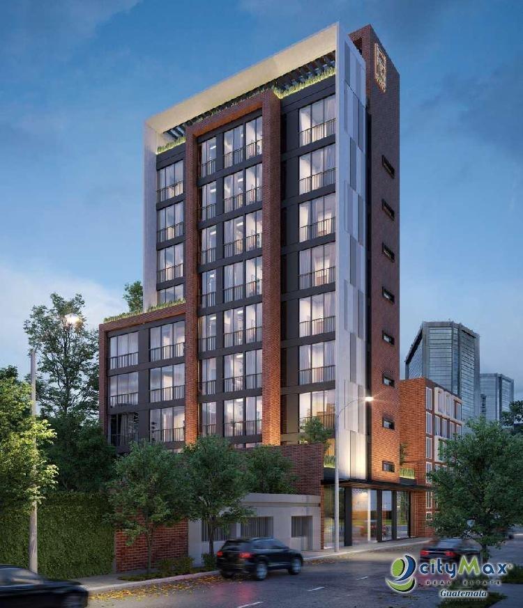 Apartamento en cuatro Grados Norte Zona 4 Tipo Loft