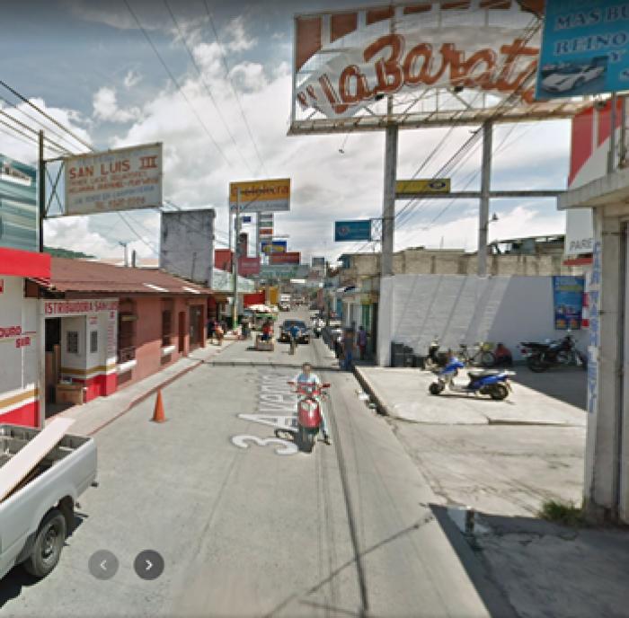 Terreno comercial en renta en Amatitlán