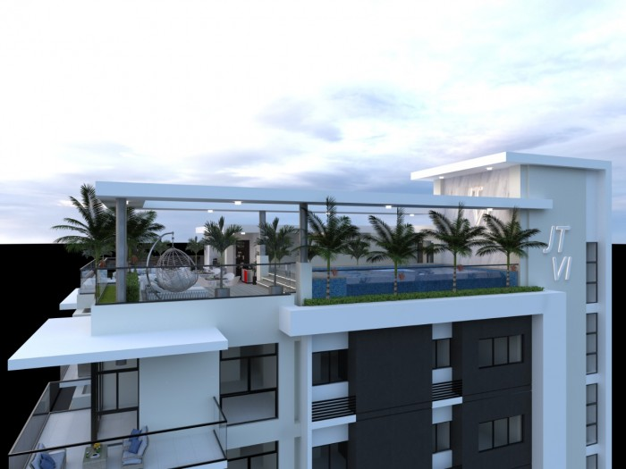 en venta Amplio Apartamento en Torre Alma Rosa I