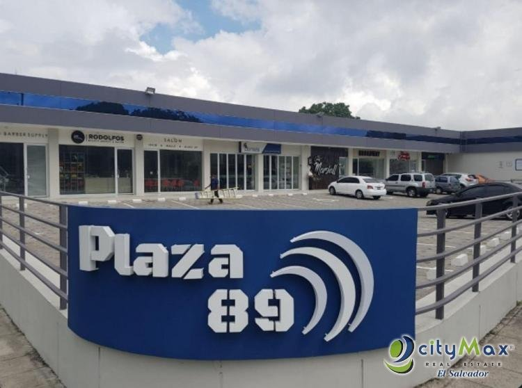 Alquilo local de 110 m2 Plaza Comercial Paseo Escalón