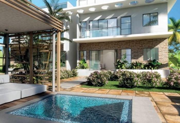 Vendo Apartamento con Jardin Privado Playa Nueva Romana