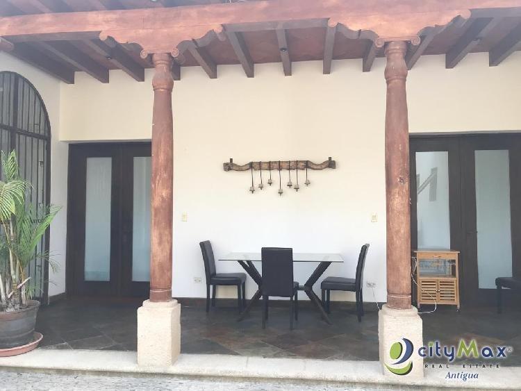 Renta apartamento totalmente amueblado La Antigua