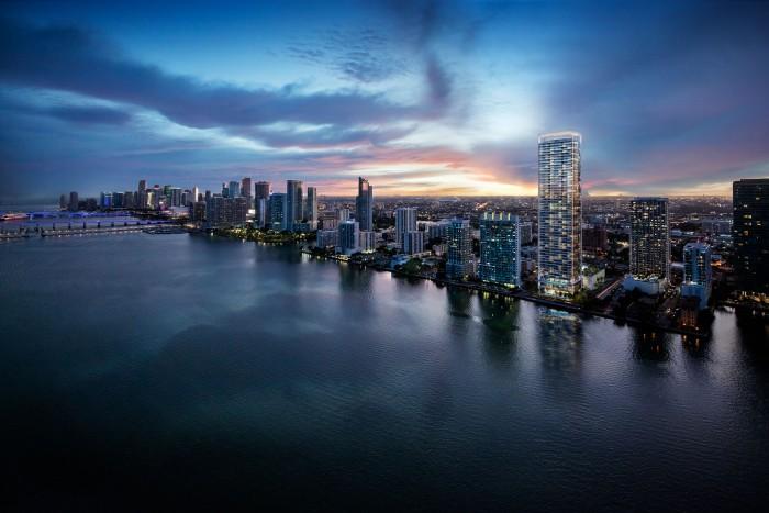 Apartamentos  en East Edgewater, Miami   2 hab