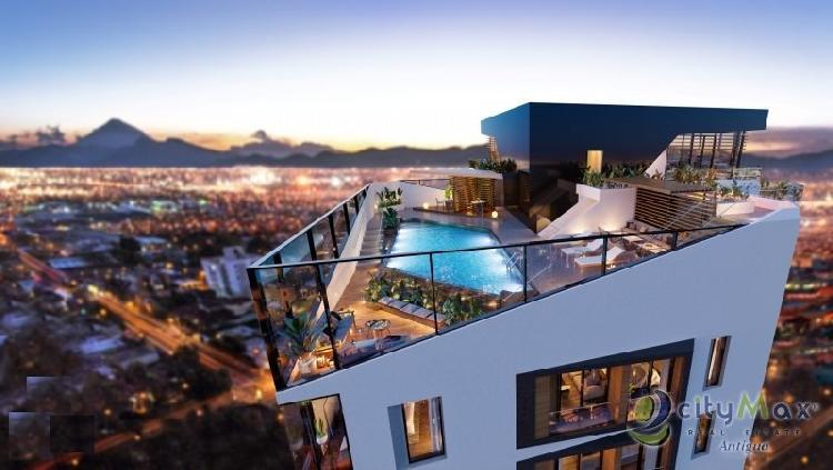 CityMax Antigua vende apartamento en torre residencial