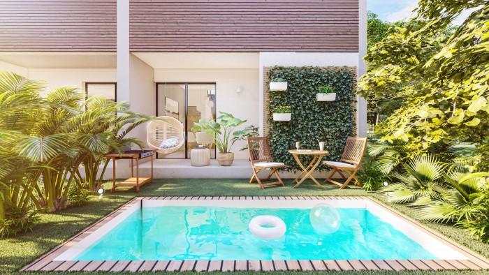Proyecto de lujo de TownHouse en venta en Vista Cana