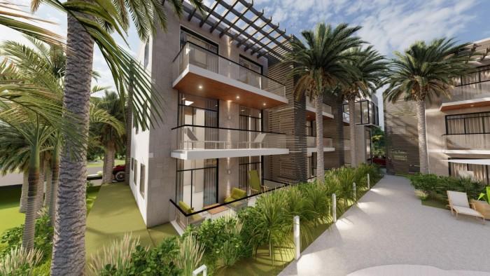Apartamento en venta  Bávaro con gym, piscina y muebles