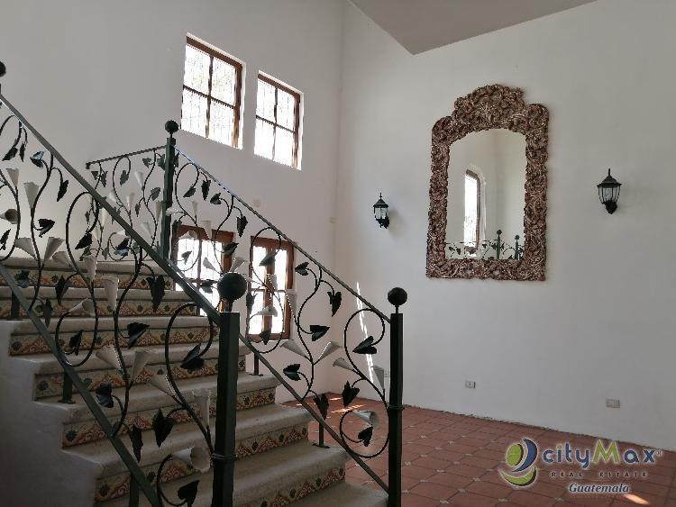 SE RENTA Y SE VENDE Casa Colonial en Zona 16