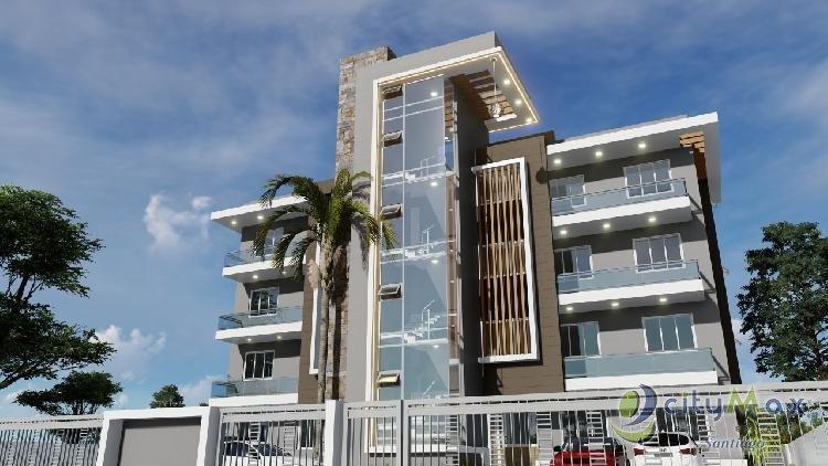 Citymax vende moderno apartamento, villa maría Santiago