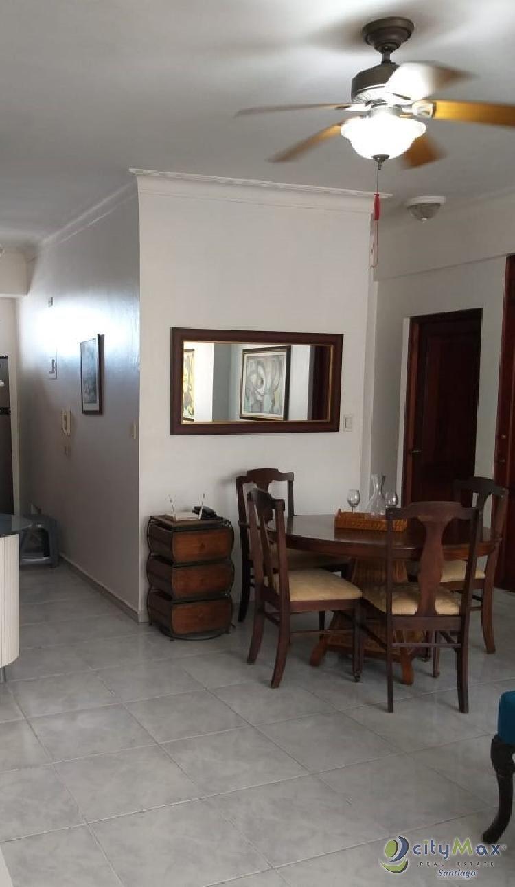 Apartamento amueblado en renta Jardines Metropolitanos
