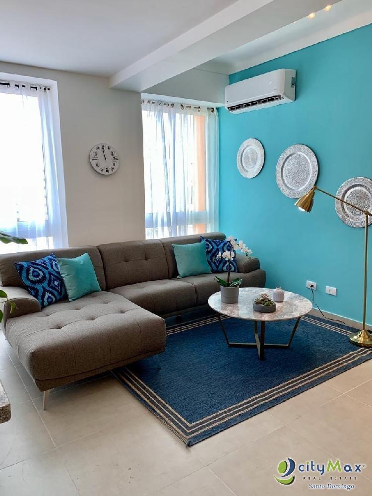 Se Renta  Moderno Apartamento Amueblado en la Esperilla