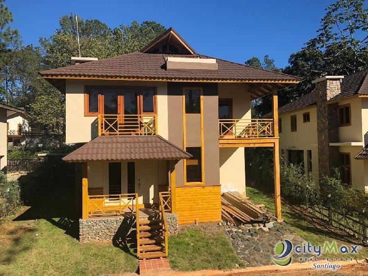Vendo Villa en Jarabacoa, rodeada de la naturaleza.