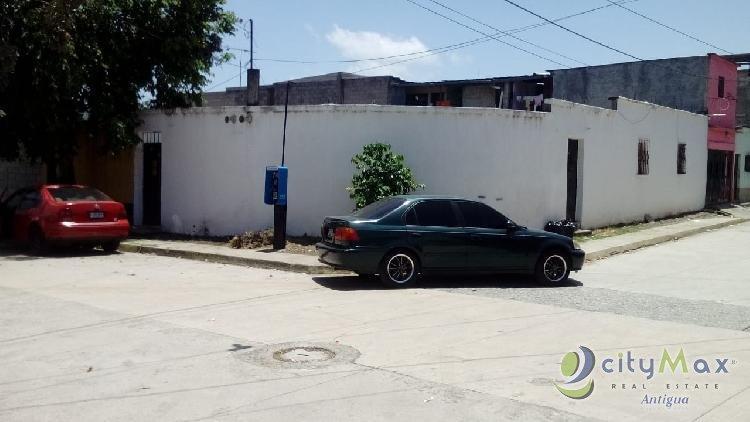 CityMax Antigua vende 4 casas amplias en zona 18
