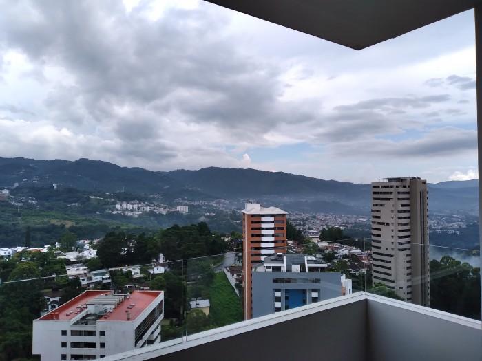 Apartamento en renta en edificio de zona 14 Guatemala