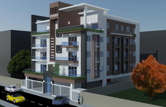 Apartamento con terraza en venta en los Prados 2 hab.