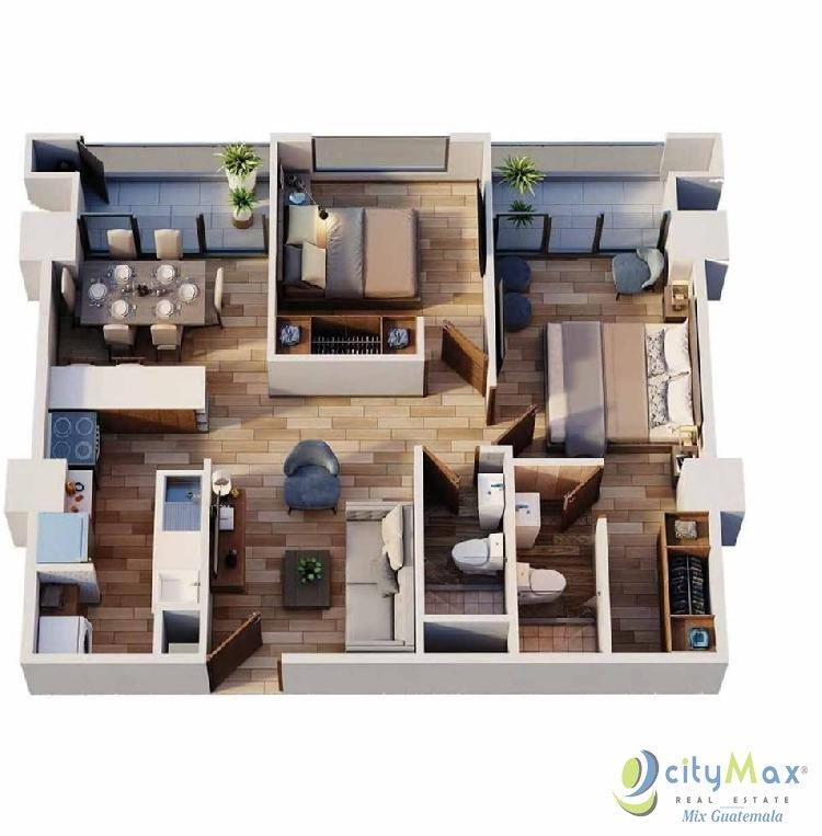 Apartamento para Estrenar en Zona 14 La Villa